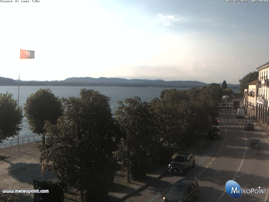 webcam Lesa Sud